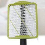 L&R Raquette de moustique électrique, Insecticide volant à l'abeille Alimenté par batterie, Raquette raquette électrique à moustiques réglable de la marque L&R image 3 produit