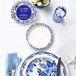 La Jolie Muse Bougie Anti Moustique Citronnelle, Anti Insectes Mouche 100% cire de soja, À l'intérieur et à l'exterieur, 45 heures de la marque La Jolie Muse image 2 produit