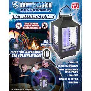 Lamp Zapper by JEWADO Lamp anti-fantômes ® Désinsectiseur, puissante lumière UV–Original portatif en TV Publicité de la marque Lamp Zapper by JEWADO image 0 produit