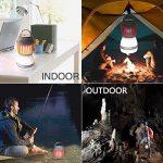 Lampe Anti-moustique Lanterne pour Camping Rechargeable avec Bug Zapper Fonction USB de Charge et de Charge Solaire pour le Camping en Plein Air Randonnée, Contrôle des Moustiques de la marque Anordsem image 4 produit