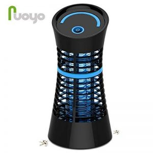Lampe Anti-moustique, NuoYo LED Destructeur de Moustique Interieur Électronique Zapper Lampe est les Meilleures Sécurises et Efficaces Lampe pour Anti-moustique/ Anti-insectes UV -lumière 5W Noir de la marque NuoYo image 0 produit