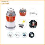 lampe anti moustique solaire extérieur intérieur TOP 7 image 3 produit