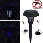 Lampe de tueur de moustique du LED d'énergie solaire, Insecte électronique Moustique Bug Zapper lampe de jardin solaire extérieure du patio de la marque Woopower image 4 produit
