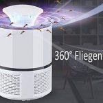 Lampe LED Anti-moustiques Angel Kiss Bug Zapper Lampe anti-moustiques électronique de tueur inhaliert Moustiquaire de Killer mouches Killer non–toxique lnsekten lumière usb betrieben 6lampes Désinsectiseur contre les moustiques Weiß de la marque Angelk image 1 produit