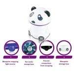 Lampe Moustique Panda Modélisation USB Moustique Tueur Moustiques Légers Convient Pour Les Femmes Enceintes Et Les Bébés de la marque Lovehome image 2 produit