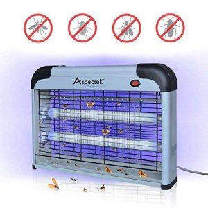 Lampe UV Anti Insectes Volants. Tue-Mouche Destructeur d' Insectes Electrique 20W. Lampe anti moustique electrique de la marque Aspectek image 0 produit