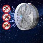 Lampe UV -Solaire Alimenté Buzz Lampe UV Lumière Fly insecte Bug Mosquito Tuer Zapper Killer de la marque FT® image 1 produit
