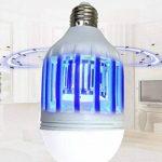 Led Bug Zapper ampoule 15W Lumière du jour E27insectes volants mites Killer Jardin Pelouse lumière LED de la marque Adore center image 3 produit
