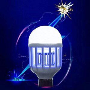 LED Mosquito Killer Ampoule 220 V 15 W LED Bug Zapper Piège Lampe E27 Insecte Anti Moustique Répulsif Tuer Fly Bug Nuit Lumière Lampes, 7.6 * 15.5 Cm de la marque L&LQ image 0 produit