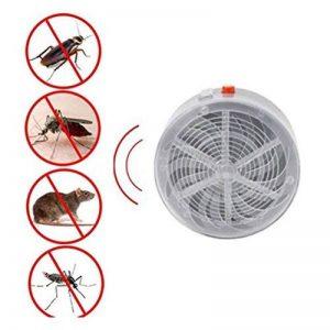 LEDMOMO Solaire Alimenté Tueur de Mosquito Zapper Insectes Électriques Bug UV Lampe Lumière Fly Piège Pest Contrôle Répulsif pour Extérieur Bébé Chambre Cuisine à la maison de la marque LEDMOMO image 0 produit
