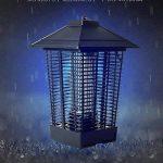LIANGLIANG Lampe Anti-moustique Les Ondes Lumineuses UV Attirent Le Choc Électrique Extérieur Imperméable À L'eau Choc Électrique Moustique Lampe Métal Noir,24 * 24 * 40cm de la marque LIANGLIANG-deng image 4 produit