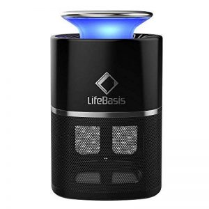 LifeBasis Lampe Anti-Insectes Non Toxique à Télécommande/Lampe Chasse-Mouche Portable/Piège à Mouche USB 5V Attrapeur de Mouches Inhalateur - Noir de la marque LifeBasis image 0 produit