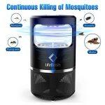 LifeBasis Lampe Anti-Moustique, LED Anti-Insectes avec USB, Piège Électronique de Moustique, Non Chimique pour Chambre(Noir) de la marque LifeBasis image 1 produit