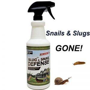 limaces et escargots défense par Exterminateurs choix- répulsif pulvérisation 0.9L fonctionne sur tous les types d'escargots et les limaces-parfait pour la boîte à outils de tout jardinier | tout répulsif spray jardin naturel | de plein air de la marque E image 0 produit