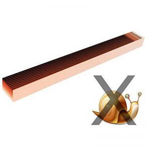 Longyee (TM) 10x Cuivre limace Bio protection Band Anneaux 17,8cm/17.5cm Diamètre pour repousser les limaces Escargots 5,1cm/5cm Hauteur (10, D175X 50mm Bague) de la marque LONGYEE image 0 produit