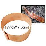 Longyee (TM) 10x Cuivre limace Bio protection Band Anneaux 17,8cm/17.5cm Diamètre pour repousser les limaces Escargots 5,1cm/5cm Hauteur (10, D175X 50mm Bague) de la marque LONGYEE image 2 produit