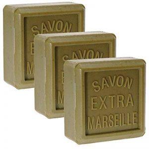 Lot 3 Savons de Marseille Traditionnels Vert Huile Olive 3 x 150g Rampal Latour de la marque Rampal Latour image 0 produit