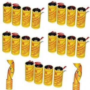 Lot de 20 rouleaux de papier tue-mouches, respectueux de l'environnement, non toxique de la marque all-around24® image 0 produit