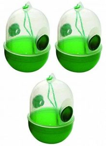 Lot de 3Piège à guêpes non toxique | tue-insectes | Moustiquaire | Papier tue-mouche de la marque Alma Garden image 0 produit