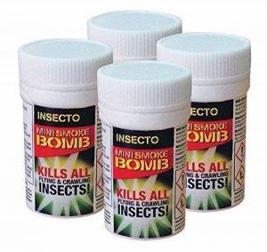Lot de 4bombes anti-puces –bombes anti-puces pour chien et chat de la marque Insecto image 0 produit