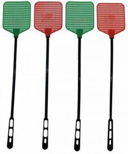 Lot de 4rétro Tapette à mouches les originaux 50cm Noir et Blanc de la marque G&M image 0 produit