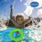 Lot de quatre bracelets extensibles répulsifs anti moustique à la citronnelle - génial pour les enfants comme pour les adultes de la marque Equilibre et Aventure image 3 produit