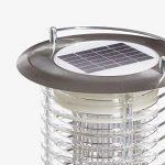 Lumisky FLY Lampe LED 2 en1 Solaire Éclairage/Fonction Anti Moustique, Acier, Intégré, 1 W, Inox de la marque LUMISKY image 2 produit