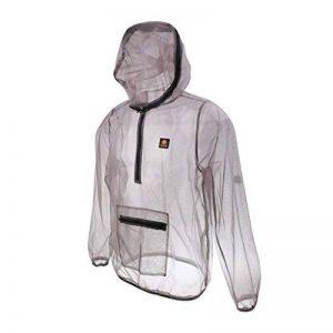 MagiDeal Veste Manteau Anti-moustique Insecte Abeille Mesh Tissu Répulsif à Sec Rapide Vêtement pour Pêche Sport Camping de la marque MagiDeal image 0 produit
