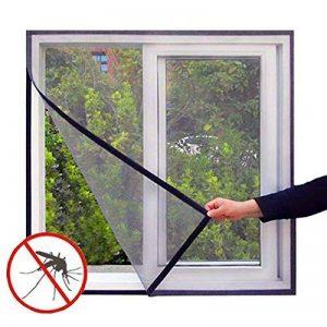 MagnetoMesh Screen – Moustiquaire spécial fenêtre avec velcro– Constitue une excellente barrière pour se protéger des insectes tout en permettant à l'air de circuler. de la marque MagnetoMesh Screen image 0 produit