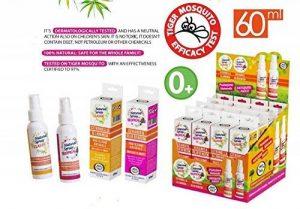 Marque Italia spray anti-moustique Deet gratuit Parfait pour la famille - 60ml Classic Natural de la marque Brand Italia Natural Mosquito Spray Classic image 0 produit