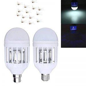 MASUNNZx E27 B22 15W Anti-Moustique Électronique Insecte Mouche Zapper Led Ampoule Ac220V Ac110V-110v- B22 de la marque MASUNN image 0 produit