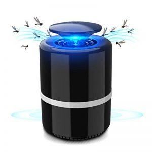 Mecotech Électronique Pièges à Moustiques Tueur de Moustiques Destructeur d'insectes 5W Anti Moustique Lumière Lampe USB Rechargeable pour Maison/Bureau/l'extérieur (Noir) de la marque Mecotech image 0 produit