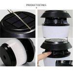 MeetUs Lampe anti-moustique de puissance solaire sans fil, modes IP54 et 2 imperméables, lampe moustique d'insecte d'insecte d'insecte extérieure extérieure d'insecte pour le camping, la pêche ou la randonnée de la marque MeetUs image 3 produit