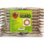 Mosquito Guard - Bracelet répuslif pour moustiques/ Bracelets pour les enfants (20 par boîte) 100% naturel, citronnelle ,geraniol , huile de citron, NON TOXIQUE et sans DEET. Répulsif à insectes de la marque Mosquito Guard image 3 produit