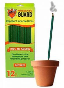Mosquito Guard- Bâtons d'encens répulsifs pour moustiques – Bâtons d'encens de 30cm répulsifs aux insectes 100% naturel de la marque Mosquito Guard image 0 produit