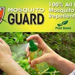 Mosquito Guard Répulsif Spray (4 FL Oz) fait avec 100% à base de plante naturelle tous les ingrédients - citronnelle, huile de citronnelle, NON toxique de la marque Mosquito Guard image 3 produit