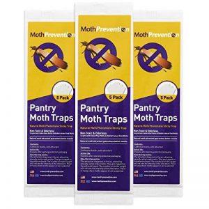 Moth-Prevention Pantry Moth Pièges 15-Pack à partir Best Catch-Rate pour la Nourriture des Mites sur Le Marché. de la marque Moth-Prevention image 0 produit