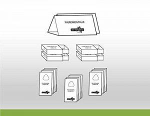 MOTTENshop Paquet Mites Alimentaires Tricho L: combinaison très efficace à pièges de phéromones et d'insectes pour lutter contre mites alimentaires. Protection biologique et durable. de la marque MOTTENshop® image 0 produit