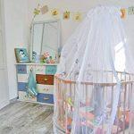 ⭐ Moustiquaire Ciel de lit bébé TRANQUILISAFE® et son support universel de la marque TRANQUILISAFE image 1 produit