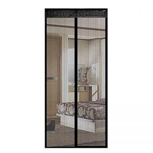 Moustiquaire Magnétique Porte Rideau Magnétique Rideau Anti Moustique Noir Pour Portes 90x210cm 1 PC de la marque Hoomall image 0 produit