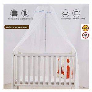 Moustiquaire pour Berceau Lit d'enfant Bébé pour Lit Anti Moustique insectes et poudre avec support support de la marque KASER image 0 produit