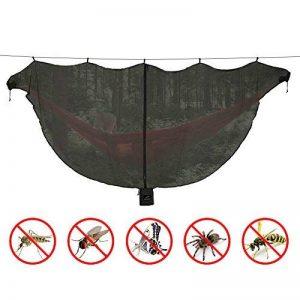 Moustiquaire pour Hamac de Lhedon, Filet Anti-moustiques Léger Portable Avancé pour Protection Contre les Moustiques à 360 °, Hamac de Camping Double Universel (Noir) de la marque Lhedon image 0 produit