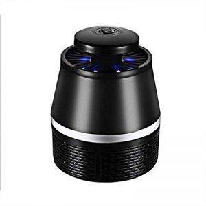 Moustique Électronique Killer Bug Zapper Non-Chimique USB Powered Insect Catcher Smart Light Control LED Photocatalyst Non-Radiative Moustique Piège Avec UV Lumière Ventilateur D'aspiration Pour L'intérieur Et L'extérieur,Black de la marque Cankun image 0 produit