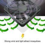 Moustique tueur lampe, Pièges à Moustiques Muet Tueur Non Toxique Piège Anti-moustique Insecte Mouche Bug USB UV Inhaler le Moustique Lampe pour Intérieur de la maison (Messager noir) de la marque Umiwe image 3 produit