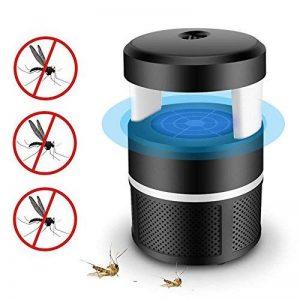 Moustique tueur lampe, Piège à insectes USB LED Smart Intérieur pièges à moustiques LED Lumière ultraviolette Bug Zapper, pas de produits chimiques (Noir) de la marque Umiwe image 0 produit
