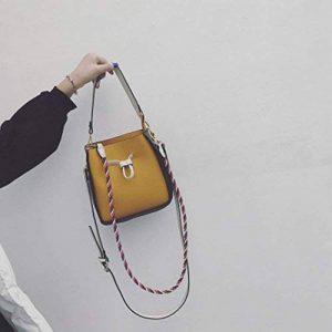 Mère du Sac à Main Mode Hit Couleur Sac à Main Bandoulière Sac à Main Bandoulière Messenger Bag , jaune de la marque YTTY image 0 produit
