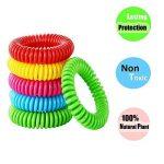 MUITOBOM - Lot de 15 bracelets anti-moustique - Répulsifs naturels - 250heures par bracelet - Étanches - Pour bébés, enfants et adulte de la marque MUITOBOM image 1 produit