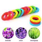 MUITOBOM - Lot de 15 bracelets anti-moustique - Répulsifs naturels - 250heures par bracelet - Étanches - Pour bébés, enfants et adulte de la marque MUITOBOM image 3 produit