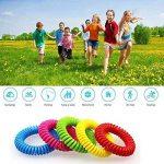 MUITOBOM - Lot de 15 bracelets anti-moustique - Répulsifs naturels - 250heures par bracelet - Étanches - Pour bébés, enfants et adulte de la marque MUITOBOM image 4 produit