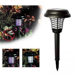 Énergie Solaire Lumière LED Anti-moustique, Elyseesen Punaise Ravageur Zapper Insecte Lampe de Tueur, Lampe de Jardin Pelouse de la marque Elyseesen-Lampe image 0 produit